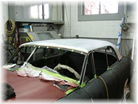 Restorations Unlimited auto restoration, antique, classics, streetrods